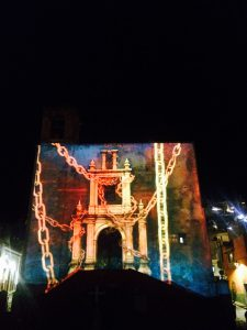 Videomapping @ Templo de San Roque | Guanajuato | Guanajuato | México